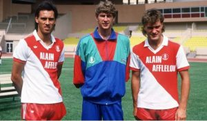 Arsene Wenger at Monaco
